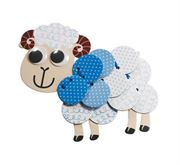 Obrazek Zestaw kreatywny – tekturowa owieczka