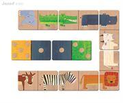 Obrazek Egzotyczne zwierzęta - domino