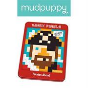 Obrazek Magnetyczne piksele - układanka Pirat 6+ MUDPUPPY