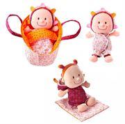 Obrazek Baby Eline lalka szmacianka w nosidełku LILLIPUTIENS