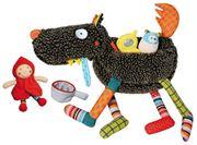 Obrazek Interaktywny Wilk i 4 akcesoria - zabawki EBULOBO