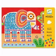 Obrazek Mozaiki słoń i ślimak