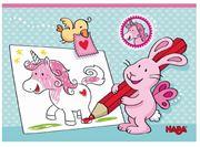 Obrazek Pocztówki do kolorowania Jednorożce HABA