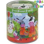 Obrazek Farma - stempelki piankowe + CD CREA LIGN'