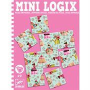 Obrazek Mini Logix - Puzzle Księżniczki DJECO