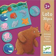 Obrazek Gra edukacyjna Lotto zwierzęta DJECO