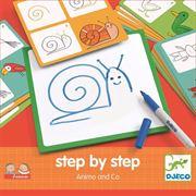 Obrazek Eduludo rysowanie krok po kroku Zwierzątka DJECO