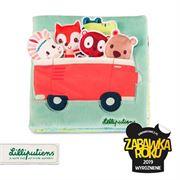 Obrazek Wielofunkcyjna książeczka z mini-przytulankami jednorożec Louise i przyjaciele LILLIPUTIENS