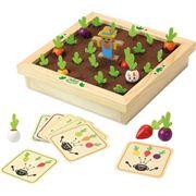 Obrazek Drewniana gra pamięciowa memo Ogród Warzywny VILAC