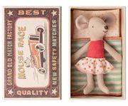 Obrazek Myszka - Młodsza Siostra w pudełku od zapalek Little Sister MAILEG