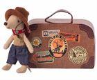 Obrazek Myszka w walizeczce Little Brother Cowboy MAILEG