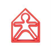 Obrazek Gryzak - zabawka Kid + House red DENA
