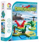 Obrazek Dinozaury Tajemnicza Wyspa - Dinosaurs Mystic Islands (ENG) SMART GAMES