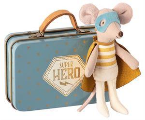 Obrazek Myszka Super Bohater Hero MAILEG