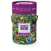 Obrazek Puzzle Motyle 100 elementów 5+ CROCODILE CREEK