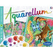 Obrazek Amazonia Aquarellum - 3 obrazki + farby 7+ SENTOSPHERE