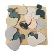 Obrazek Drewniane puzzle jajka i dinozaury EGMONT TOYS