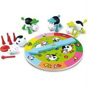 Obrazek Lotto Krówki - drewniana gra dla trzylatka VILAC