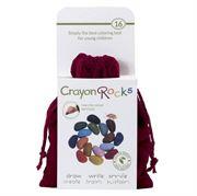 Obrazek Kredki w aksamitnym woreczku - 16 kolorów CRAYON ROCKS