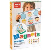 Obrazek Układanka magnetyczna Emocje APLI KIDS