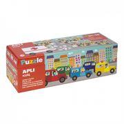 Obrazek Puzzle do nauki dodawania Autka 5+ APLI KIDS