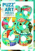 Obrazek Puzzle artystyczne Ośmiornica 350 el. DJECO