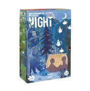 Obrazek Dwustronne puzzle dla dzieci Dzień i Noc LONDJI