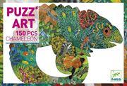Obrazek Puzzle artystyczne Kameleon 150 el. DJECO