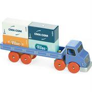 Obrazek Drewniana ciężarówka z kontenerami VILAC