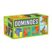 Obrazek Domino Dinozaury 28 elementów 3+ MUDPUPPY
