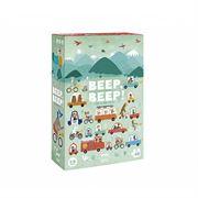 Obrazek Puzzle dla dzieci - gra BEEP BEEP! - Samochody 6+ LONDJI